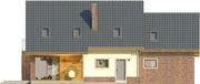 Projekt domu Komfort 2g - elewacja tylna