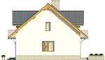 Projekt domu Kolia - elewacja boczna 1