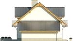 Projekt domu Kolia - elewacja boczna 2