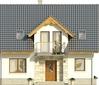 Projekt domu Kolia 2 - elewacja przednia