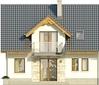 Projekt domu Kolia 2 - elewacja tylna