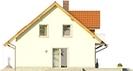 Projekt domu Jodła - elewacja boczna 1