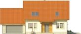 Projekt domu Jodła 2G - elewacja przednia