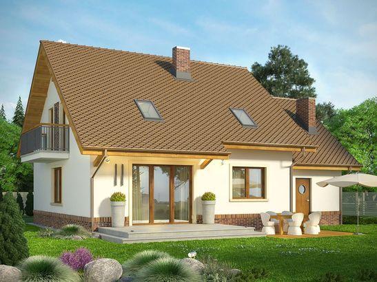 Projekt domu Natura - widok 2