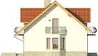 Projekt domu Czereśnia - elewacja boczna 1