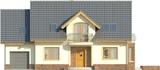 Projekt domu Magnolia - elewacja przednia