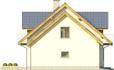 Projekt domu Kasztan 2g - elewacja boczna 2