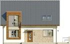 Projekt domu Tabasco - elewacja przednia