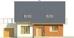 Projekt domu Lawenda - elewacja przednia