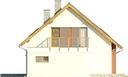 Projekt domu Lawenda - elewacja boczna 2