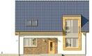 Projekt domu Tabasco 2 - elewacja przednia