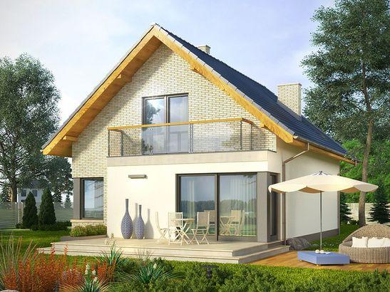 Projekt domu Panorama - widok 1