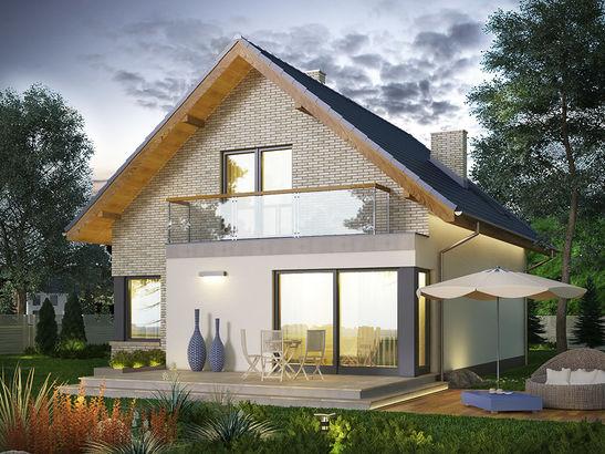 Projekt domu Panorama 2 - widok 3