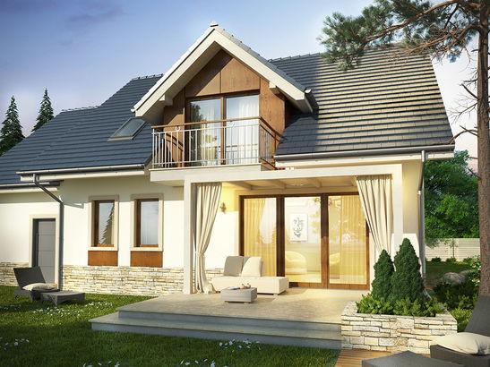 Projekt domu Wanilia - widok 2