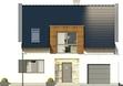 Projekt domu Aviator 2 - elewacja przednia