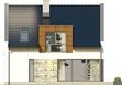 Projekt domu Aviator 2 - elewacja tylna