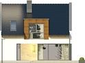 Projekt domu Aviator 3 - elewacja tylna
