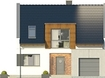 Projekt domu Aviator 4 - elewacja przednia