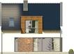 Projekt domu Aviator 4 - elewacja tylna
