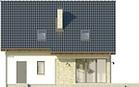Projekt domu Tabasco 3 - elewacja tylna