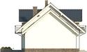 Projekt domu Pryzmat 2 - elewacja boczna 2