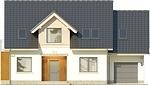 Projekt domu Marzenie 2 - elewacja przednia