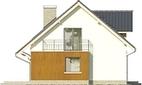 Projekt domu Marzenie 2 - elewacja boczna 1