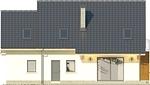 Projekt domu Marzenie 2 - elewacja tylna
