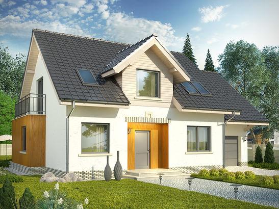 Projekt domu Marzenie 2 - widok 1