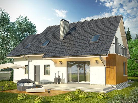 Projekt domu Marzenie 2 - widok 2