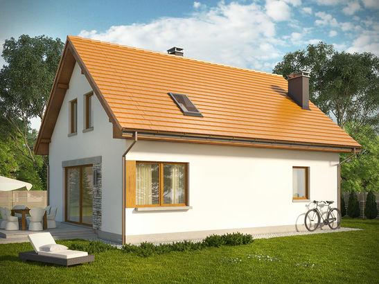Projekt domu Muno - widok 2