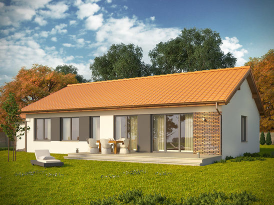 Projekt domu Danta - widok 2