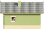 Projekt domu Domek 1 - elewacja tylna