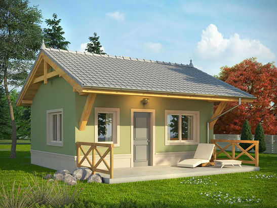 Projekt domu Domek 1 - widok 1