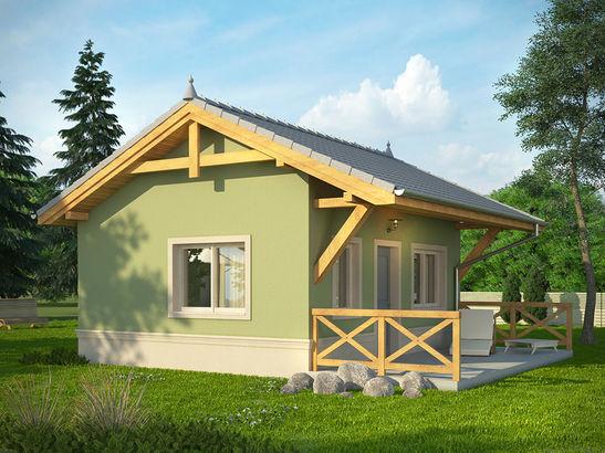 Projekt domu Domek 1 - widok 2