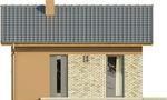 Projekt domu Domek 2 - elewacja przednia