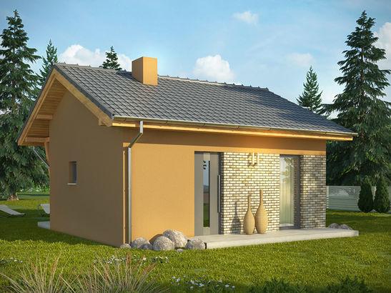 Projekt domu Domek 2 - widok 2