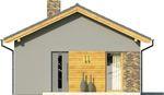 Projekt domu Domek 3 - elewacja przednia