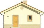 Projekt domu Domek 4 - elewacja przednia