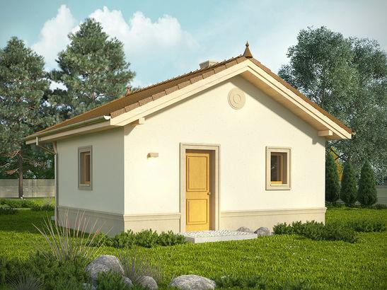 Projekt domu Domek 4 - widok 2