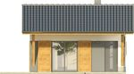 Projekt domu Domek 5 - elewacja przednia