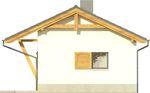 Projekt domu Domek 5 - elewacja boczna 2