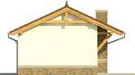 Projekt domu Domek 7 - elewacja boczna 2