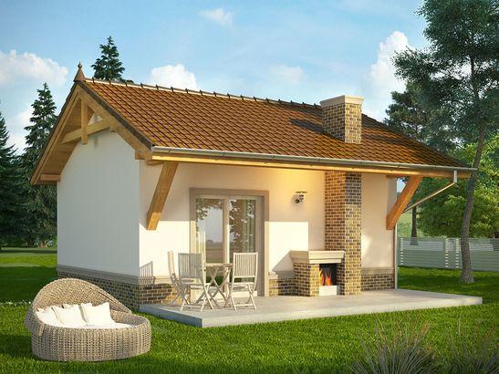 Projekt domu Domek 7 - widok 2