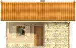 Projekt domu Domek 8 - elewacja przednia