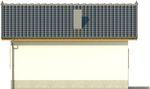Projekt domu Domek 9 - elewacja boczna 2