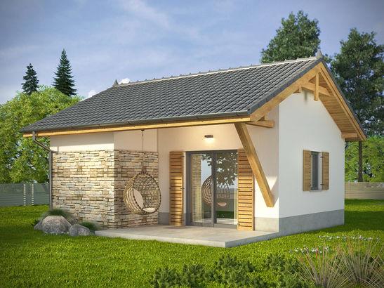 Projekt domu Domek 9 - widok 1
