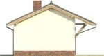 Projekt domu Domek 10 - elewacja boczna 2