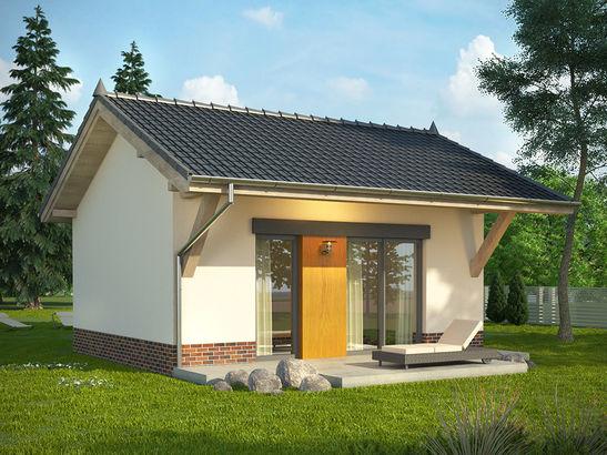 Projekt domu Domek 10 - widok 1