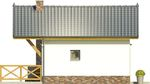 Projekt domu Domek 11 - elewacja boczna 1